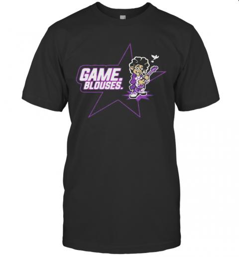 Game Blouses Playing Guitar Bird T-Shirt Classic Men's T-shirt