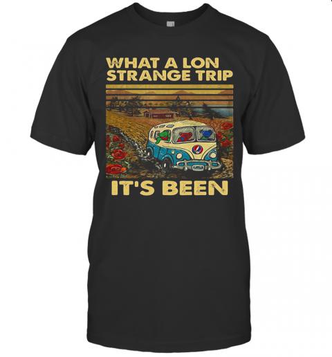 Grateful Dead Bus Bears What A Long Strange Trip It'S Been Vintage Retro T-Shirt Classic Men's T-shirt
