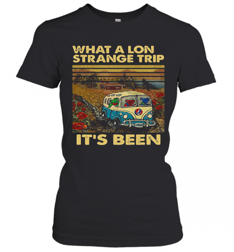 Grateful Dead Bus Bears What A Long Strange Trip It'S Been Vintage Retro T-Shirt Classic Women's T-shirt