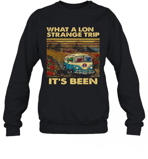 Grateful Dead Bus Bears What A Long Strange Trip It'S Been Vintage Retro T-Shirt Unisex Sweatshirt