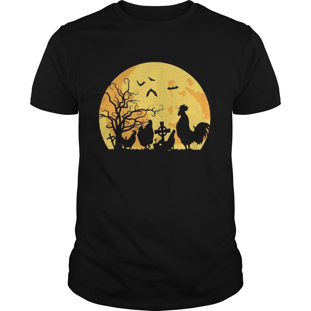 Halloween moon chicken  Unisex