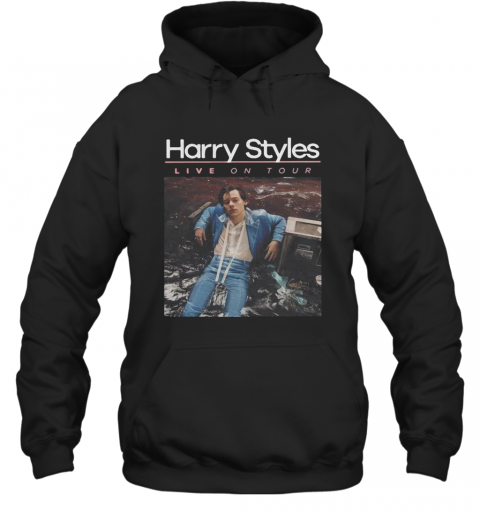 Harry Styles Live On Tour Poster T-Shirt Unisex Hoodie