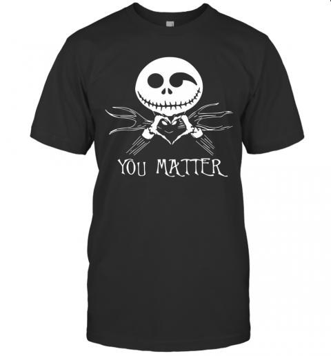 Jack Skellington You Matter T-Shirt Classic Men's T-shirt