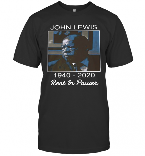 John Lewis 1940 2020 Rest In Power T-Shirt Classic Men's T-shirt