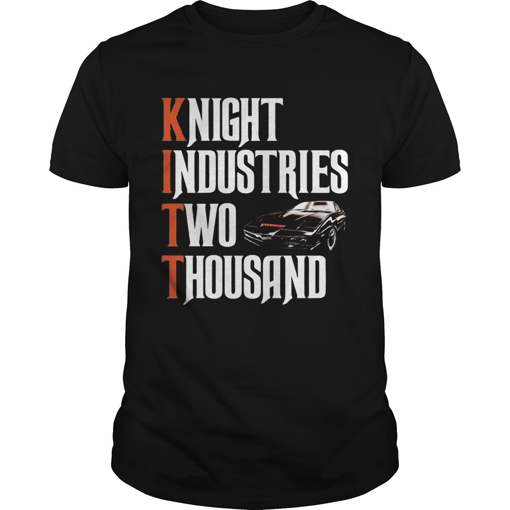Knight rider two thousand car Unisex