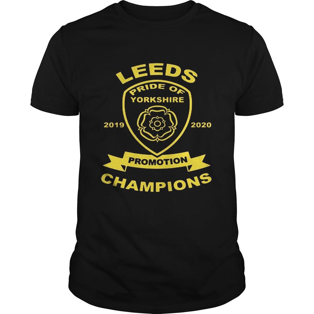 Leeds pride of yorkshire 20192020 promotion champions  Unisex