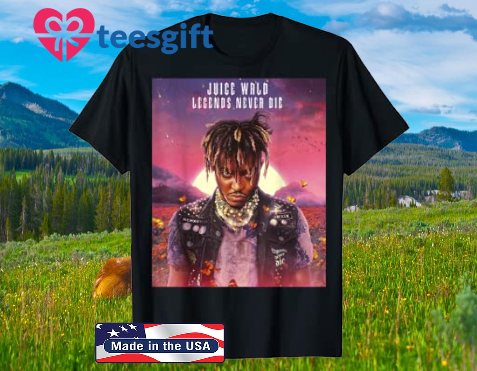 Legends fan Never Die music Official T-Shirt