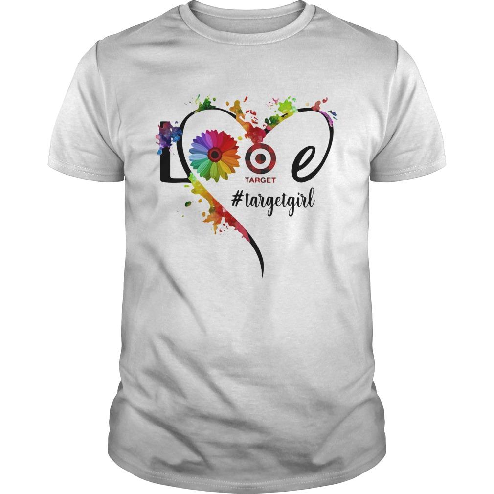 Lgbt love target girl flower heart  Unisex