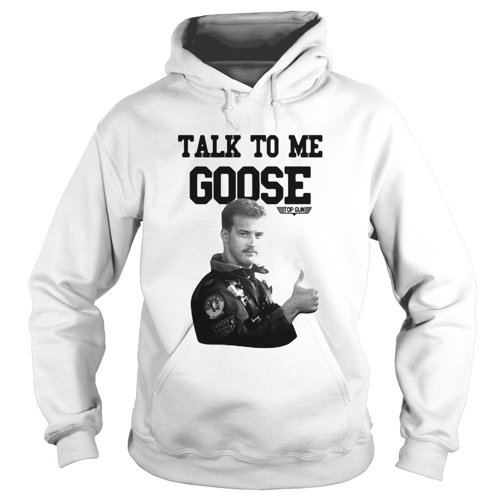 Licenza ufficiale talk to me goose top gun  Hoodie