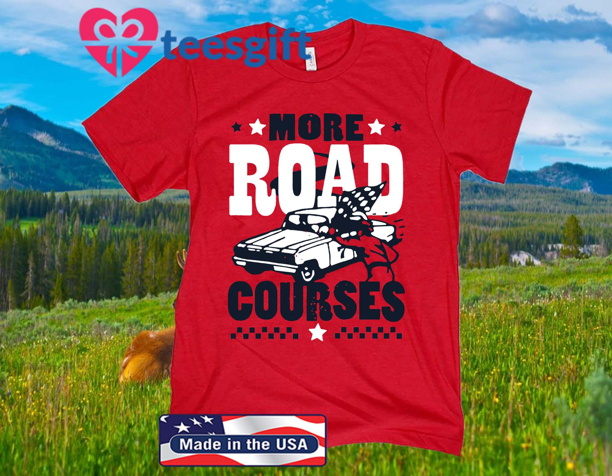 More Road Courses Tee Shirt