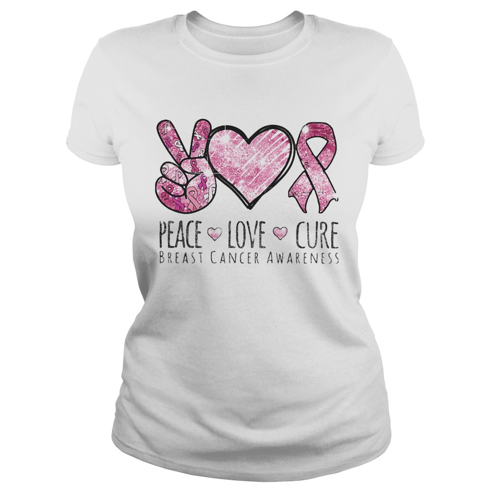 Pace Love Cure breast cancer awareness  Classic Ladies