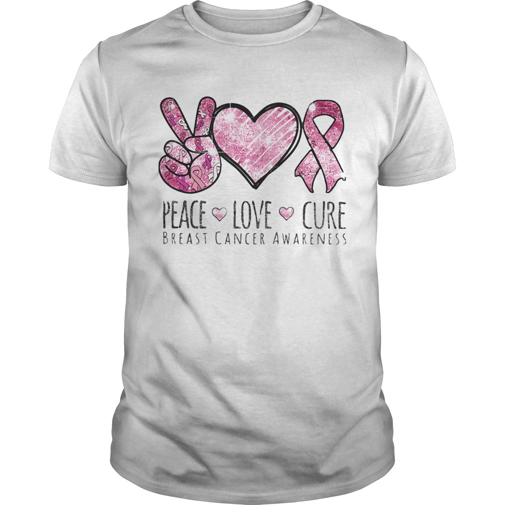 Pace Love Cure breast cancer awareness  Unisex