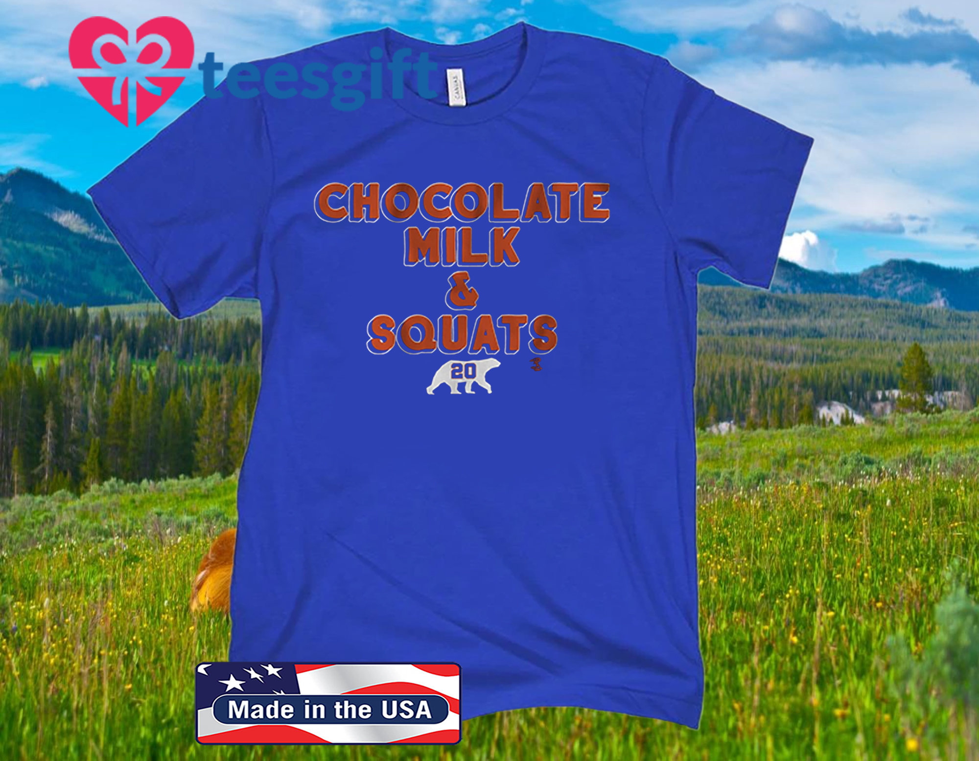 Pete Alonso Chocolate Milk & Squats 2020 Shirt - MLBPA Licensed