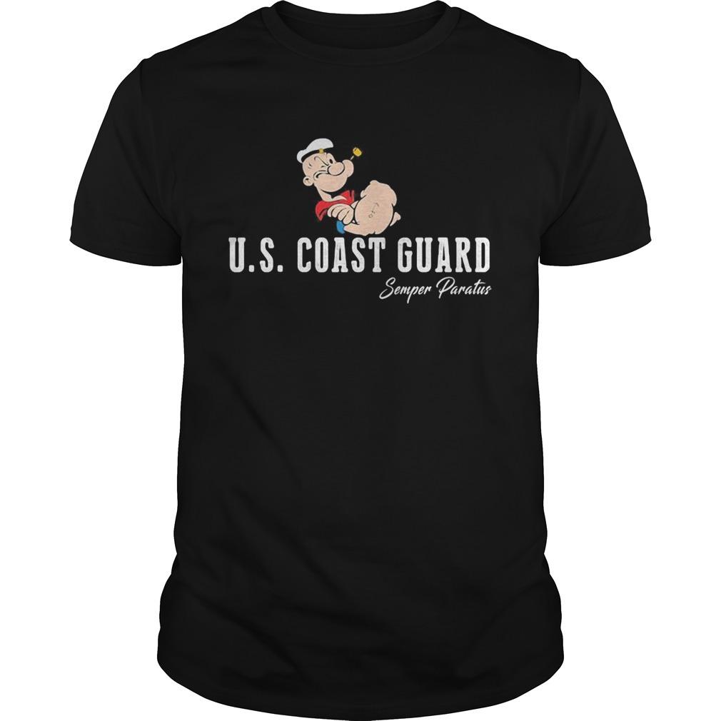 Popeye us coast guard semper paratus  Unisex