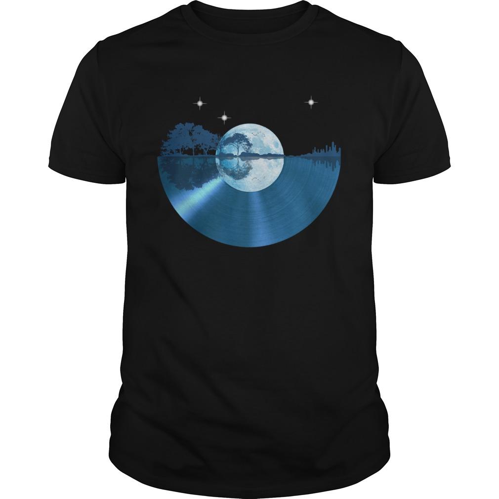 Record music moon soul  Unisex