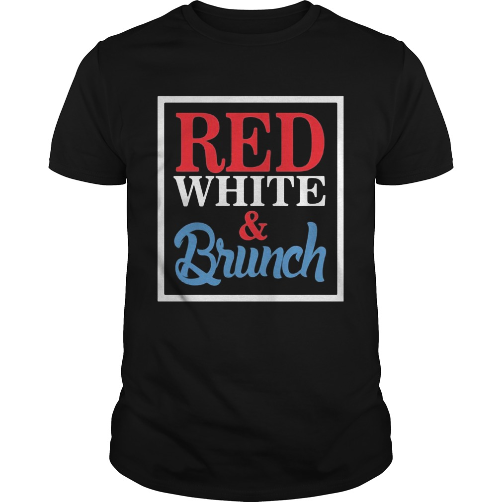 Red White And Brunch Frames Unisex