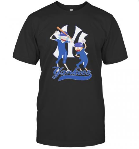 Rick And Morty New York Yankees Baseball Players T-Shirt Classic Men's T-shirt