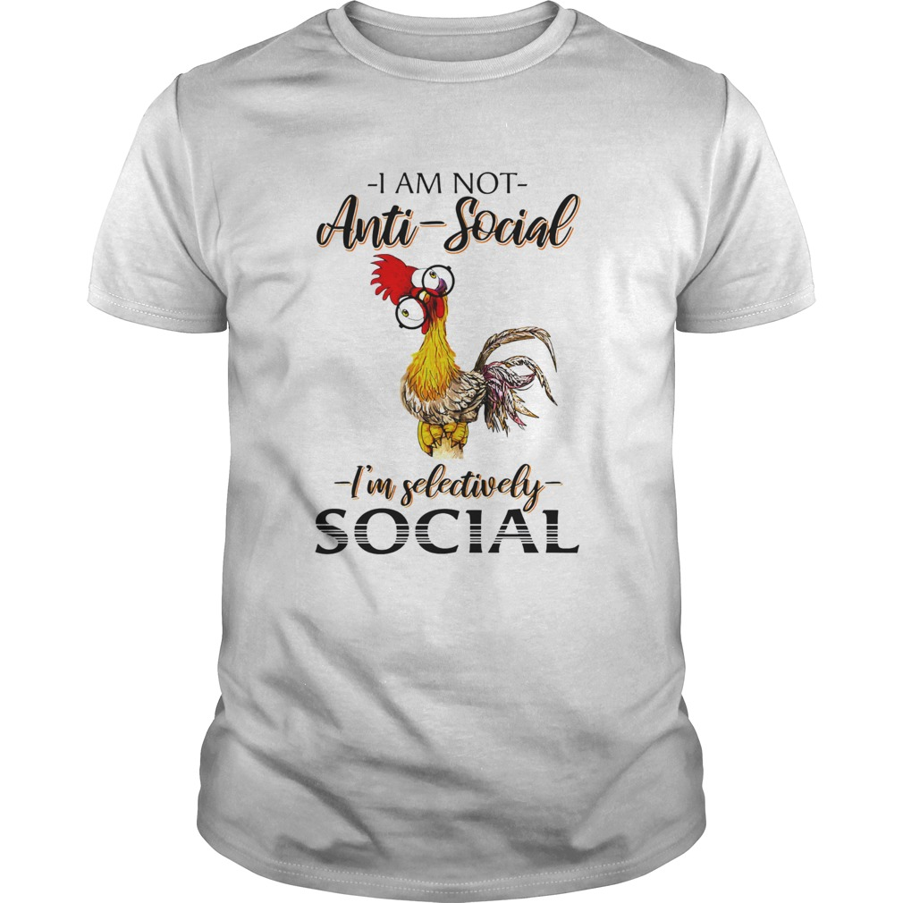 Rooter I am not antisocial Im selectively social  Unisex