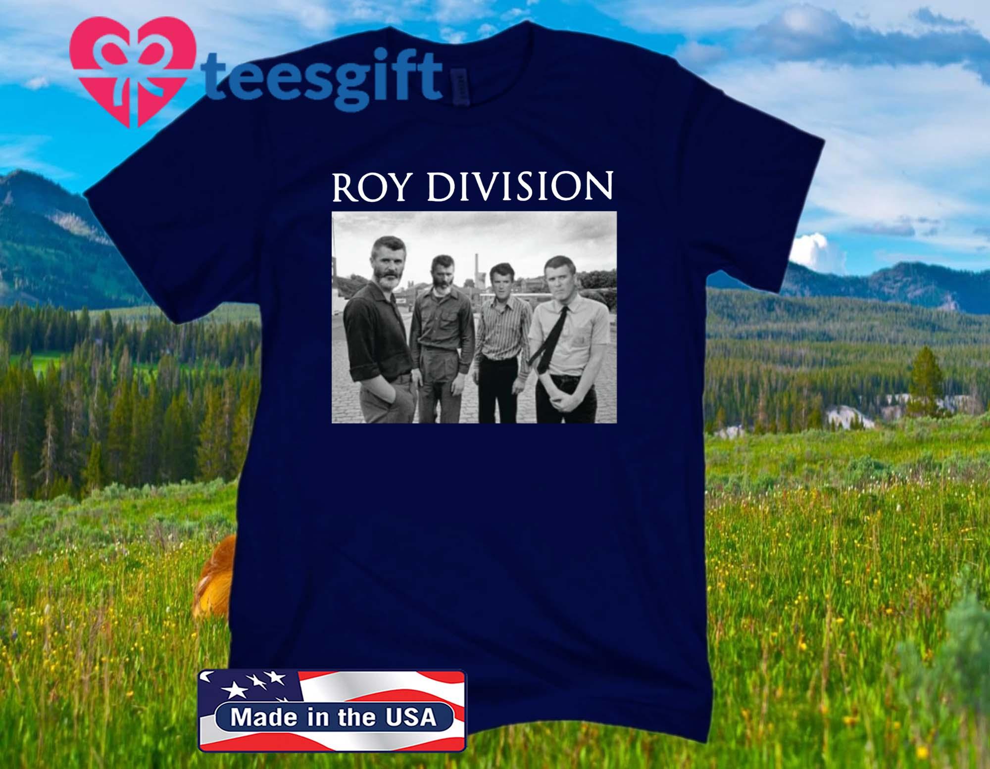 Roy Division Joy Division Meme Official T-Shirt