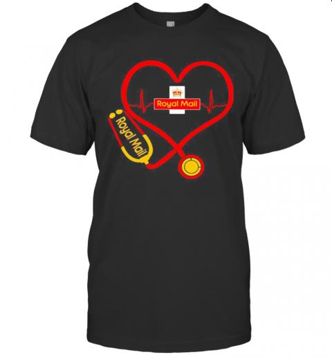 Royal Mail Nurse Stethoscope Love Heartbeat T-Shirt Classic Men's T-shirt