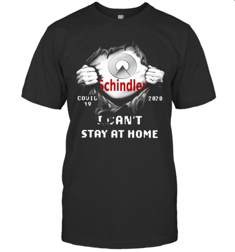 Schindler Inside Me Covid 19 2020 I Can'T Stay At Home T-Shirt Classic Men's T-shirt
