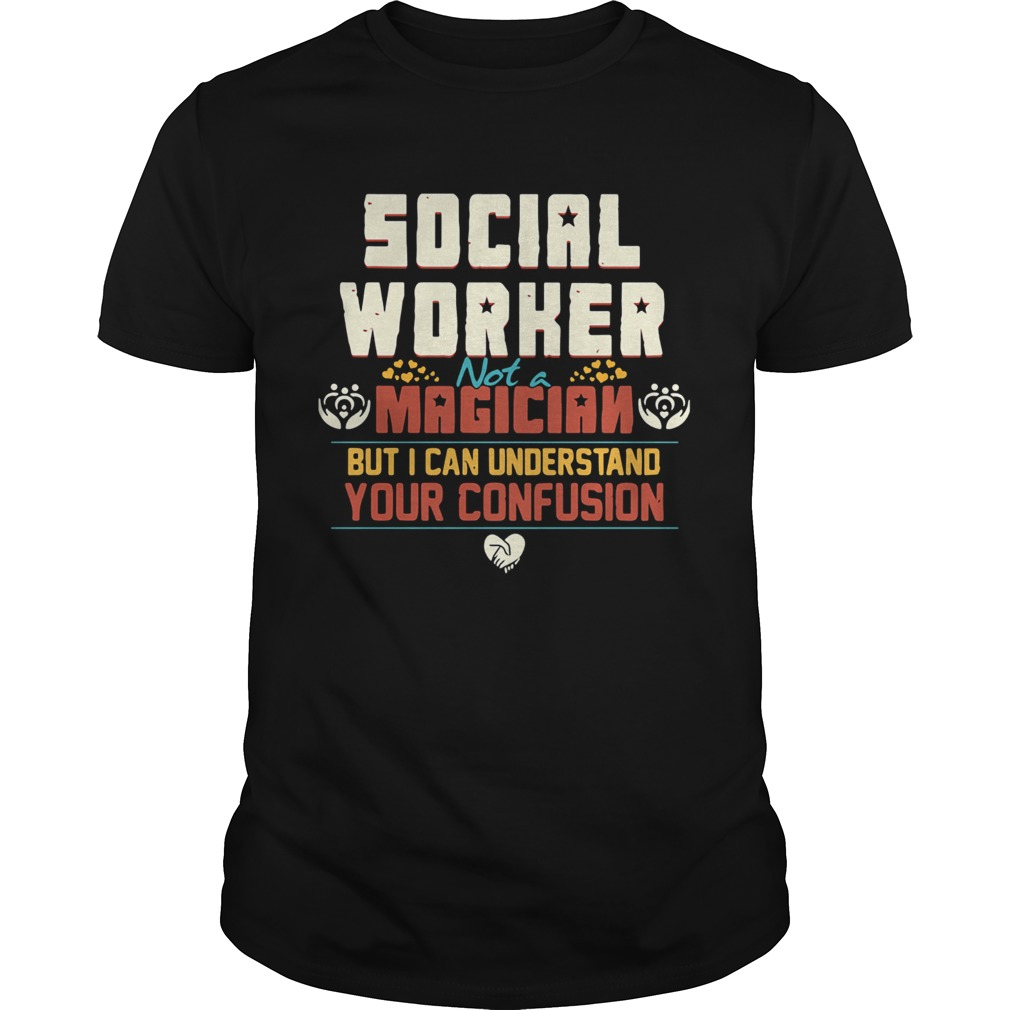 Social worker not a magician but i can understand your confusion  Unisex