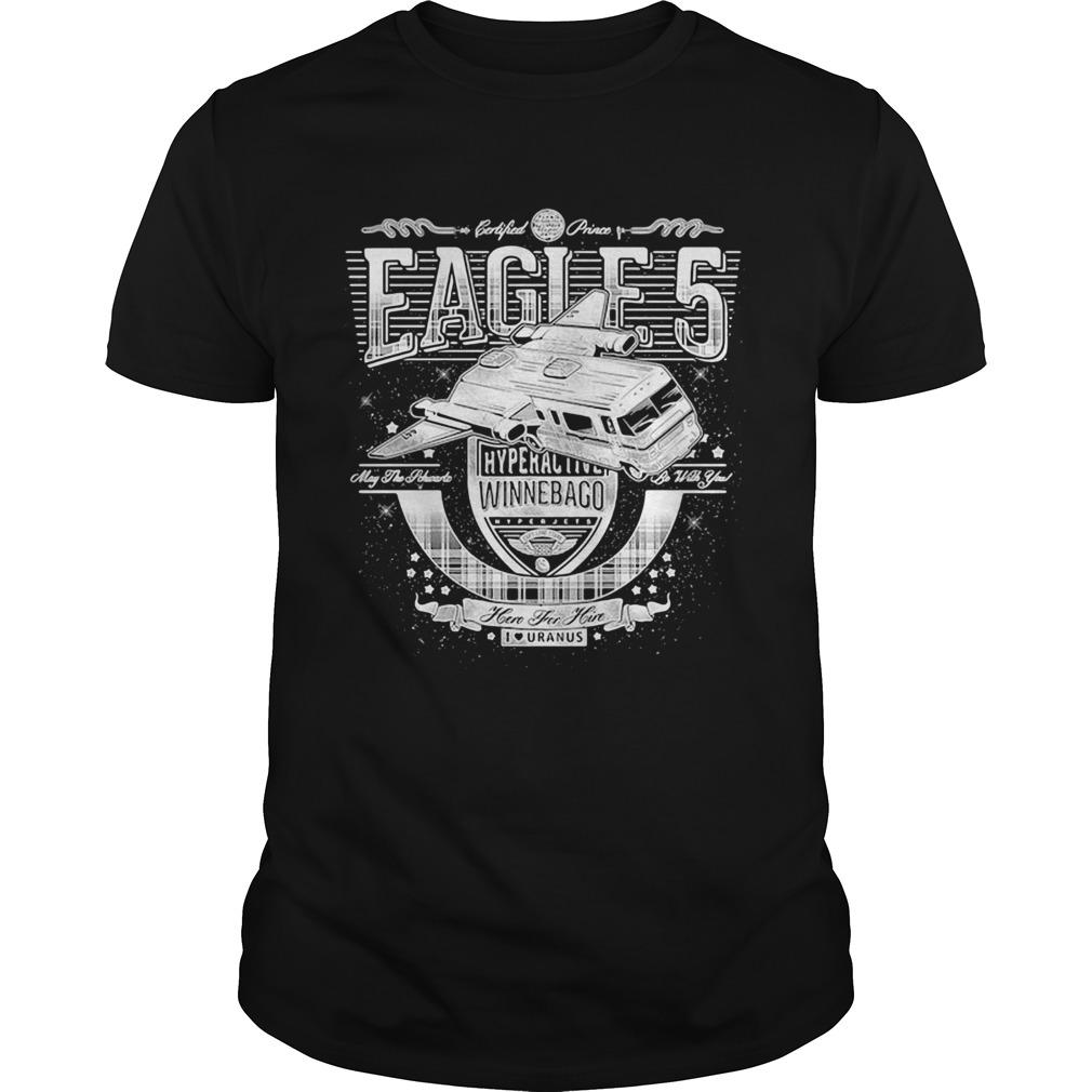 Spaceballs eagle 5 hyperal liver winnebago here for him i love uranus  Unisex