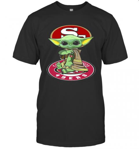 Star Wars Baby Yoda Tattoos San Francisco 49Ers T-Shirt Classic Men's T-shirt