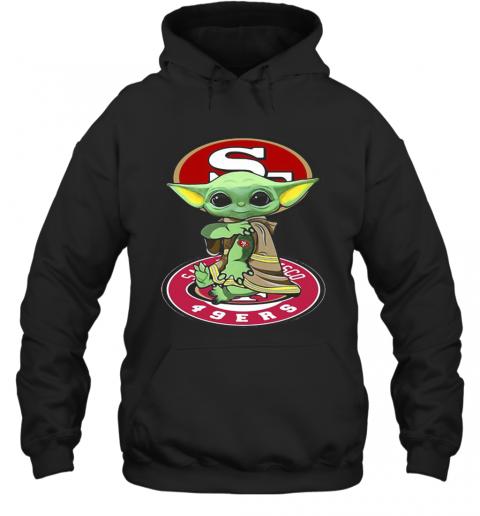 Star Wars Baby Yoda Tattoos San Francisco 49Ers T-Shirt Unisex Hoodie