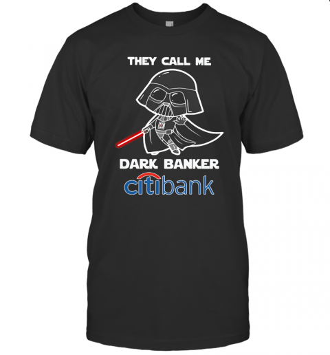 Star Wars Darth Vader They Call Me Darth Baker Citibank T-Shirt Classic Men's T-shirt