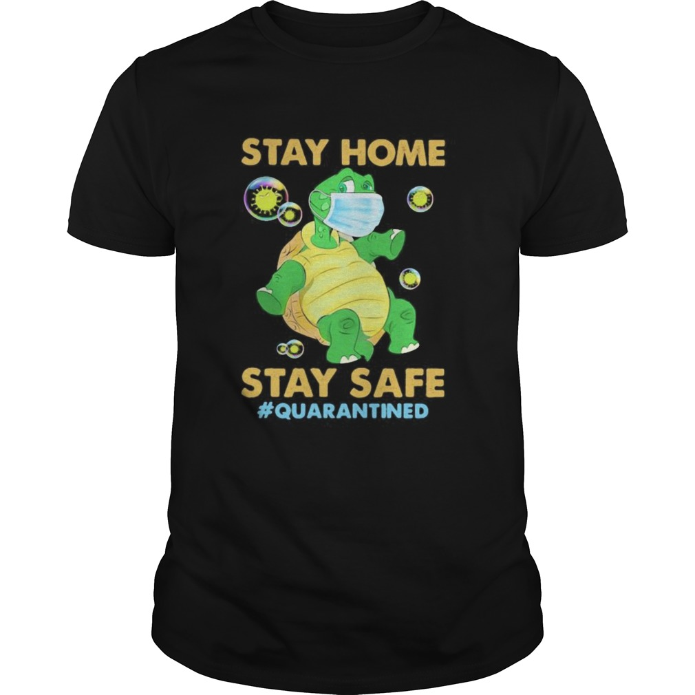 Stay home stay safe quarantined Turtle face mask  Unisex