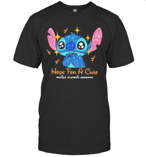 Stitch Hope For A Cure Multiple Sclerosis Awareness T-Shirt Classic Men's T-shirt