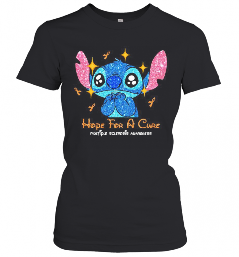 Stitch Hope For A Cure Multiple Sclerosis Awareness T-Shirt Classic Women's T-shirt