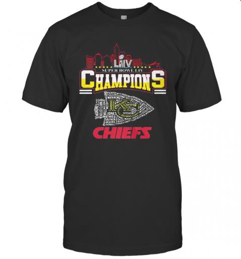Super Liv Bowl Champios Kansas City Chiefs Football Team T-Shirt Classic Men's T-shirt