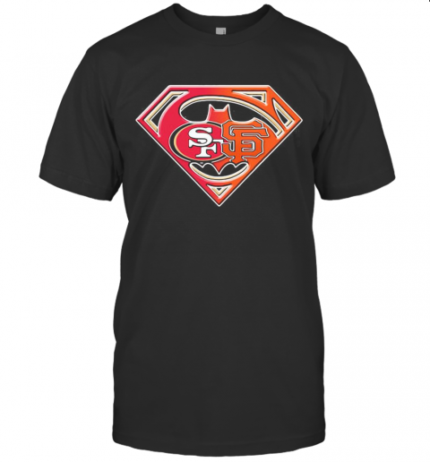 Superman San Francisco 49Ers And San Francisco Giants T-Shirt Classic Men's T-shirt