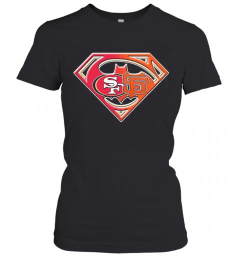 Superman San Francisco 49Ers And San Francisco Giants T-Shirt Classic Women's T-shirt