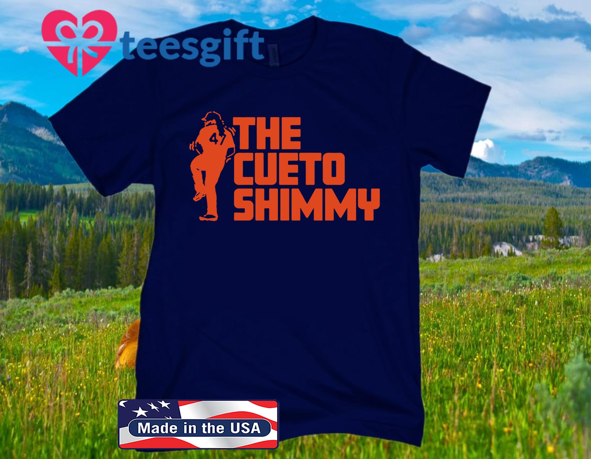 The Cueto Shimmy Official T-Shirt San Francisco - MLBPA Licensed