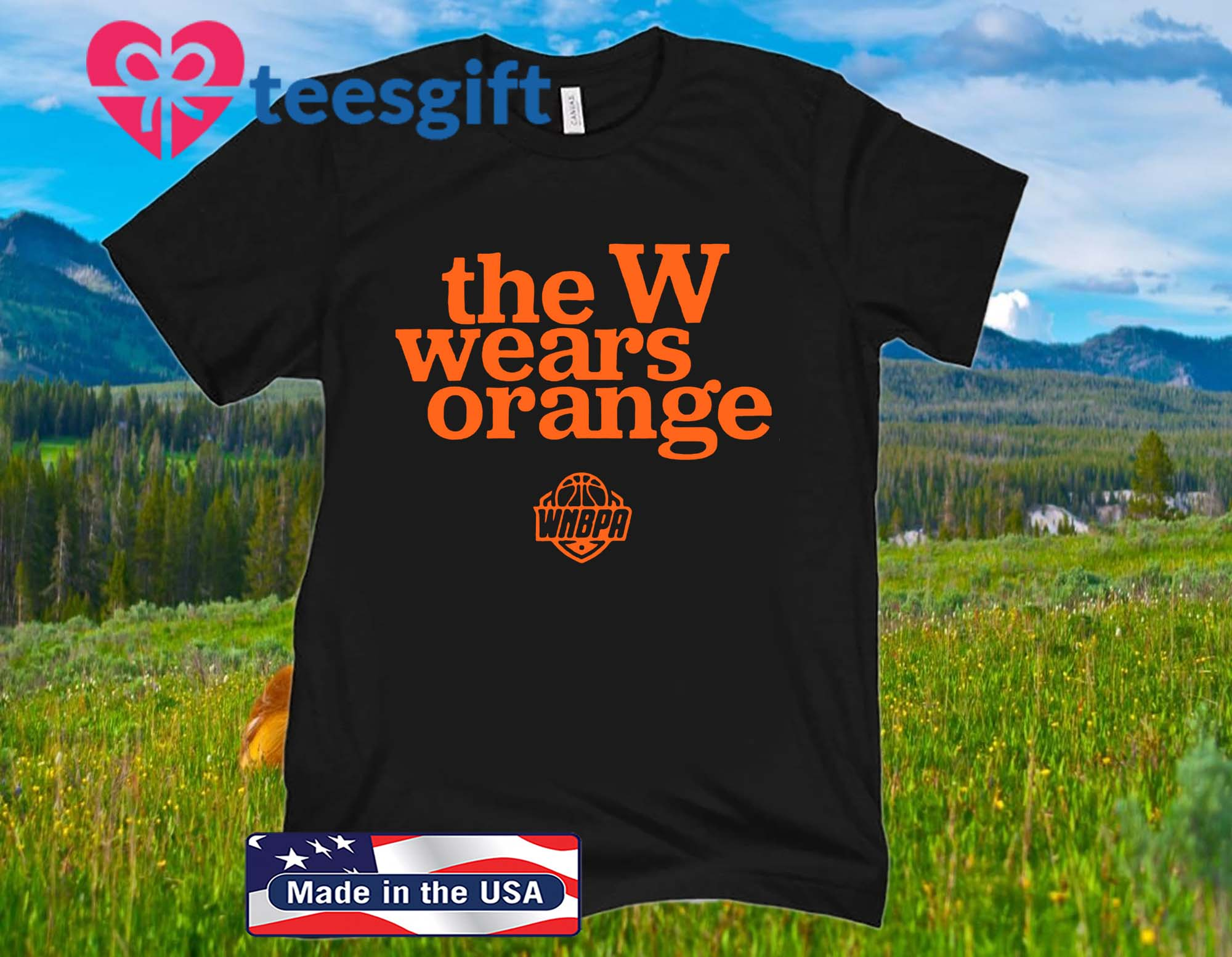 The W Wears Orange 2020 Shirt - Officially WNBPA Licenseds