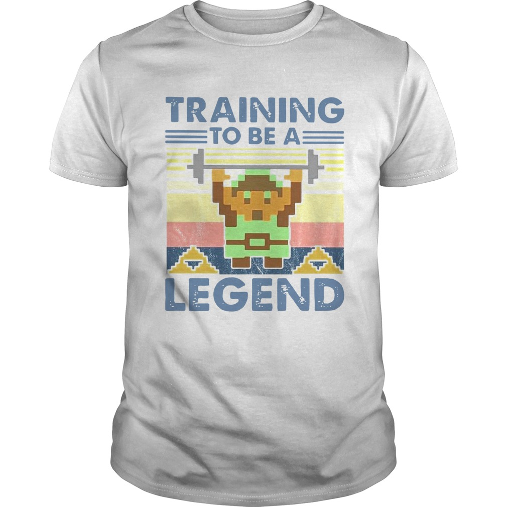 Training To Be A Legend Vintage  Unisex
