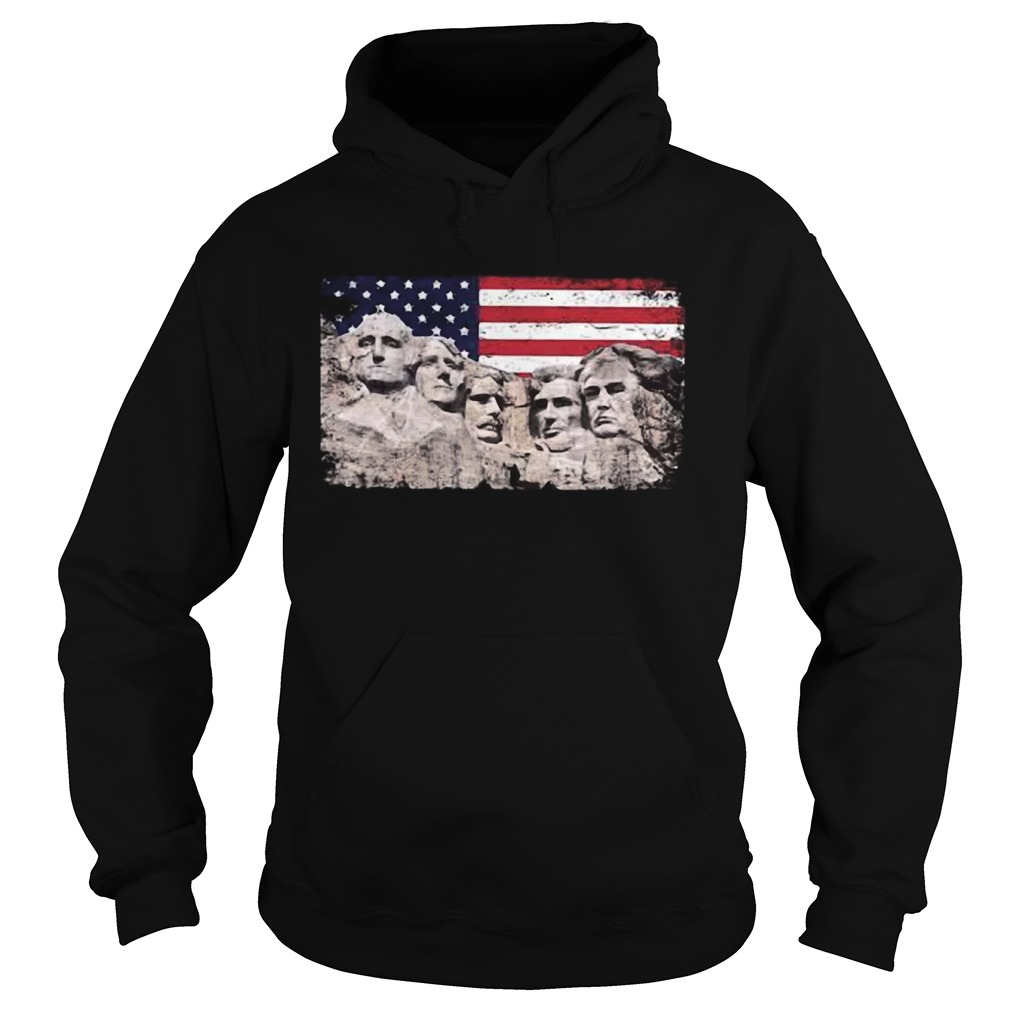 Trump 45th Added To Mount Rushmore  Hoodie