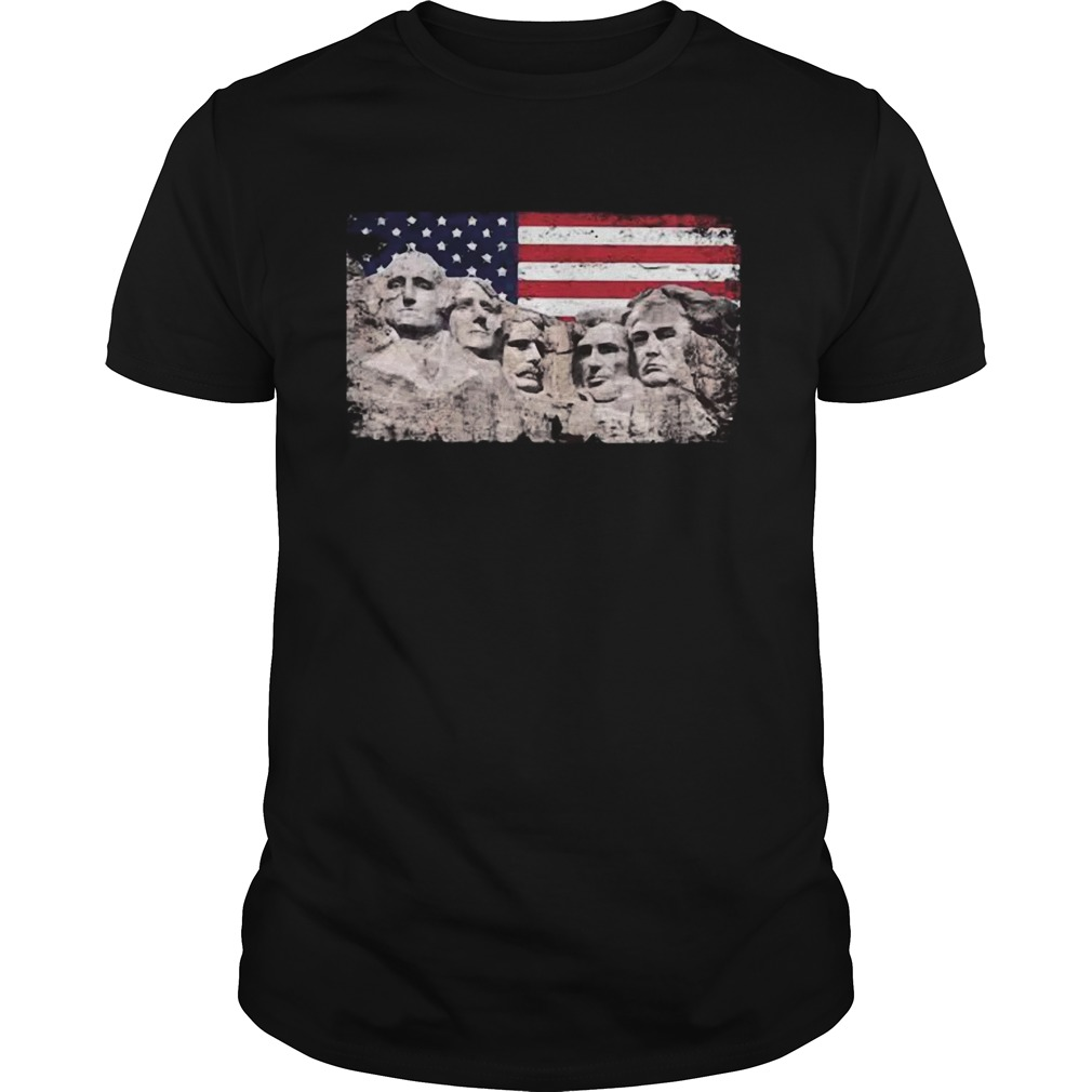 Trump 45th Added To Mount Rushmore  Unisex