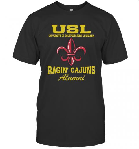 USL University Of Southwestern Louisiana Ragin' Cajuns Alumni T-Shirt Classic Men's T-shirt