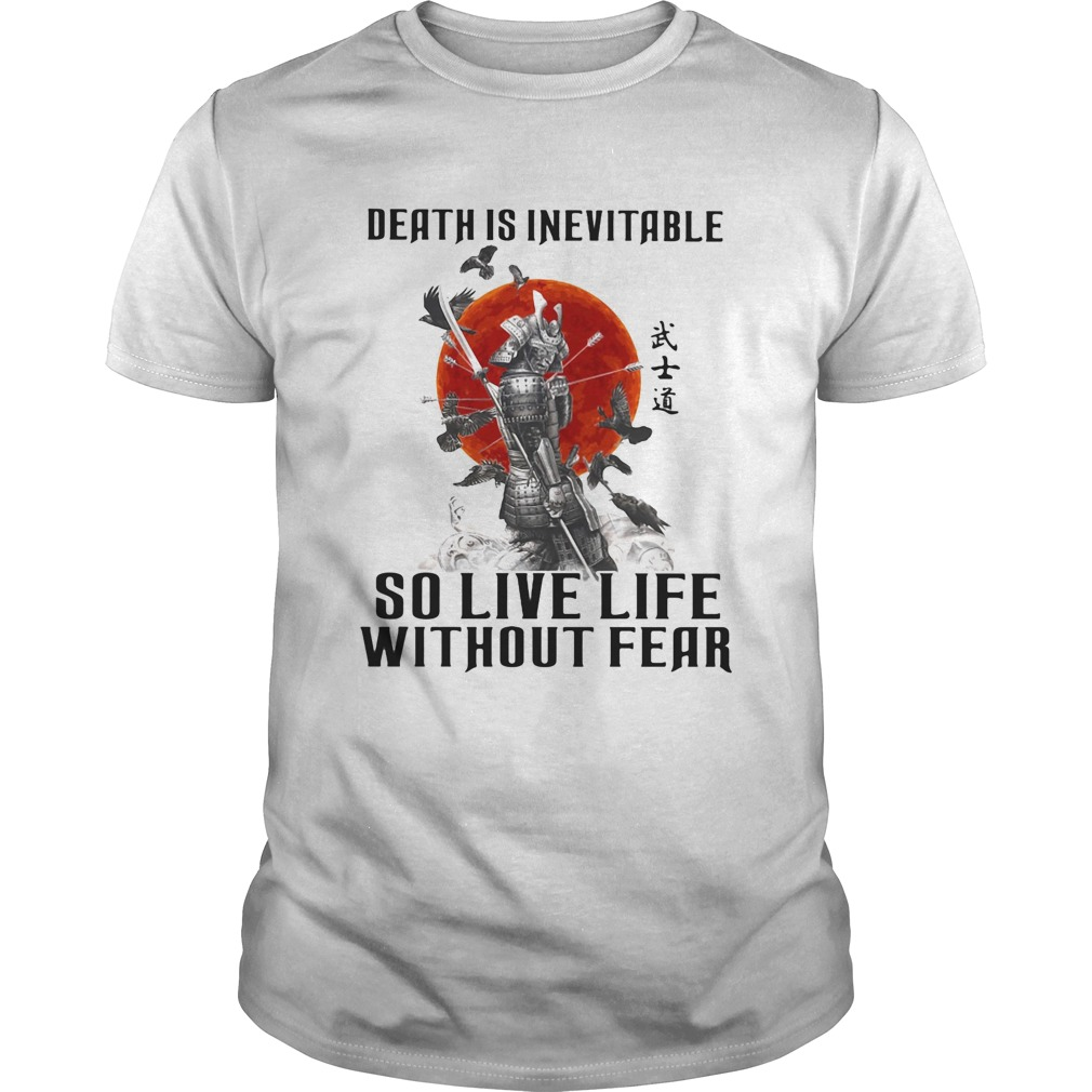 Vikings death is inevitable so live life without fear sunset  Unisex