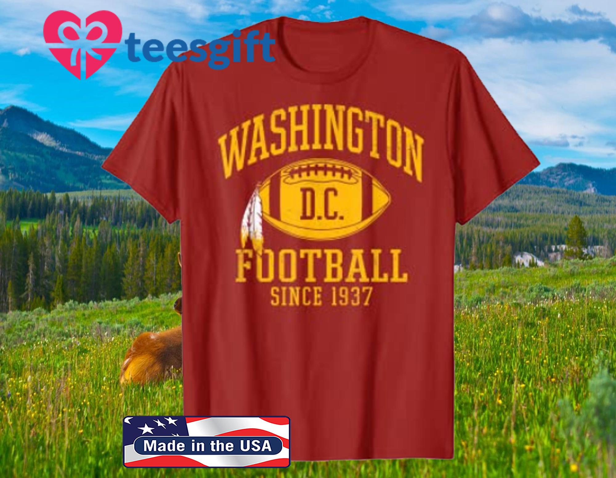 Vintage Washington Football DC Official T-Shirt