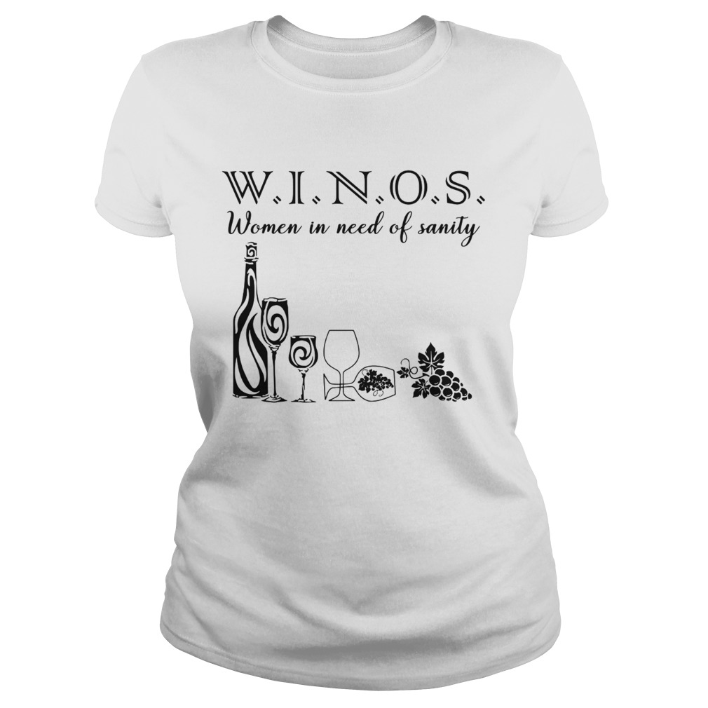Winos Women in Need of Sanity  Classic Ladies