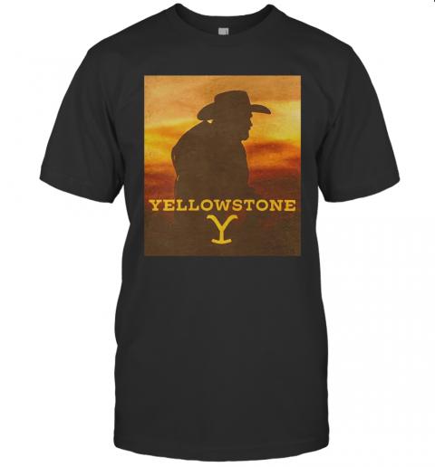Yellowstone 1936 Movie Sunset T-Shirt Classic Men's T-shirt
