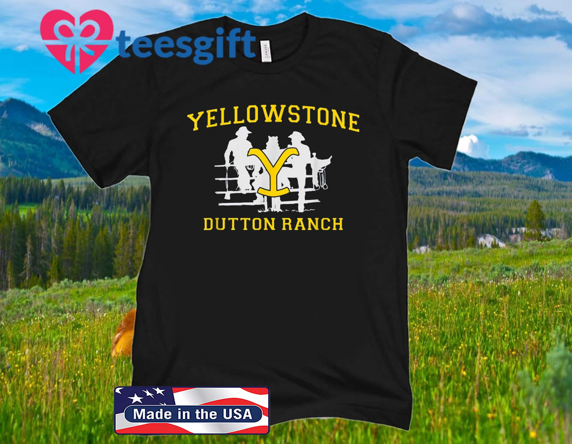 Yellowstone Dutton Ranch T-Shirt
