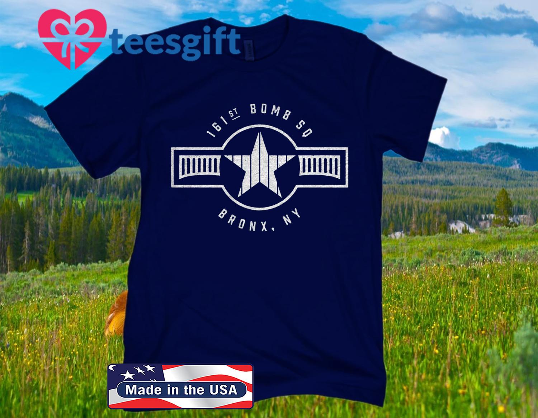 161st Bomb Squadron TShirt NY Bronx Baseball