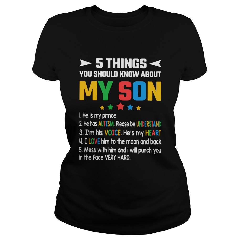 5 Thing You Should Know About My Son 1 He Is My Prince 2 He Has Autism  Classic Ladies