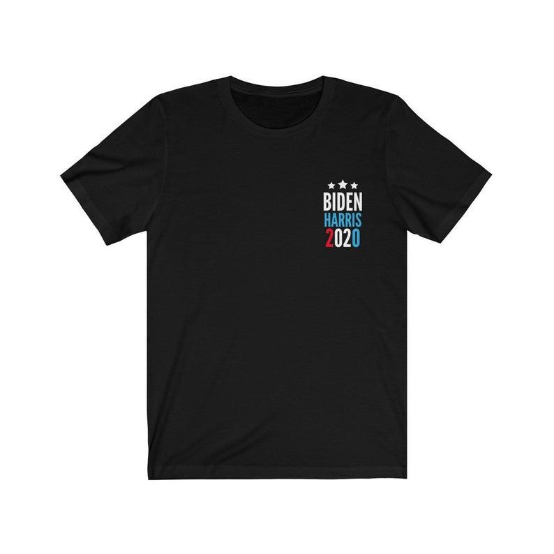 Biden Harris 2020 Pocket Style T-Shirt Joe Biden Kamala Harris For President Vice President Shirt